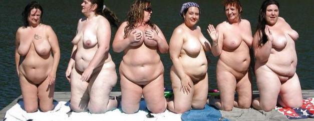 фотографии толстых женщин голых
