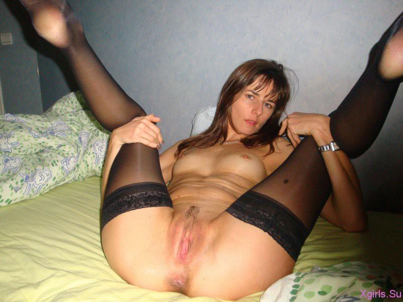 в чулках частное секс фото