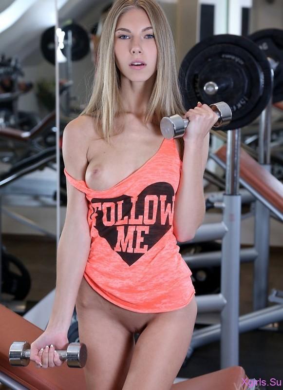 Красивые девушки спортсменки голышом фото