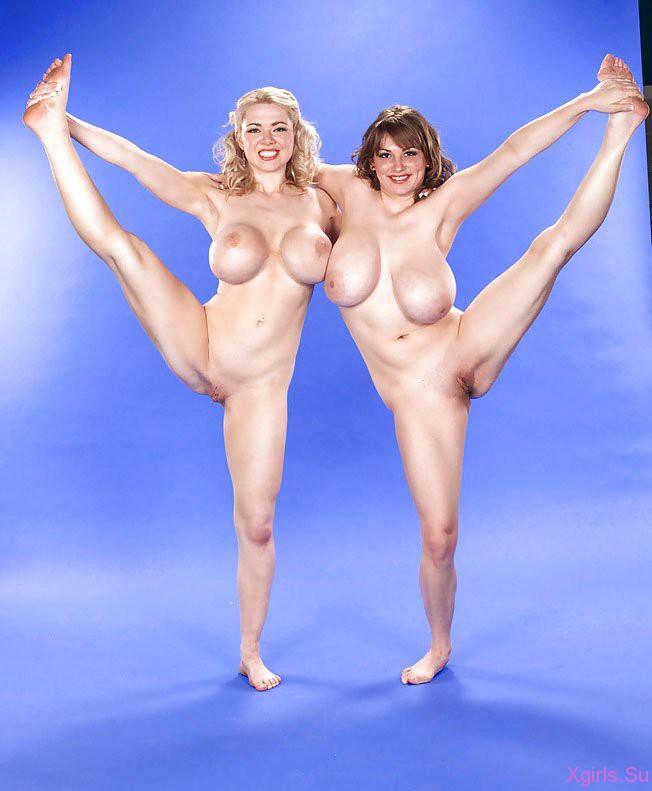 Фото голых спортсменок с большими сиськами